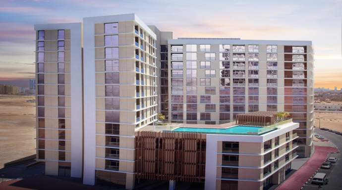 Al Thowima Residences - 3 bedroom flat + maid