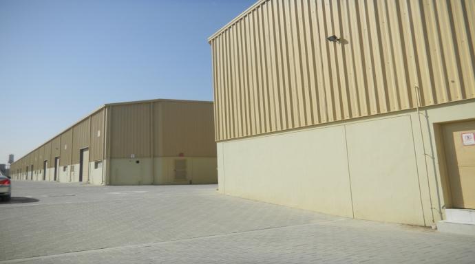 JEBEL ALI WAREHOUSES - warehouse