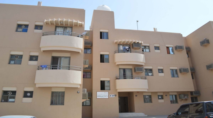 R334 muhaisnah - 1 bedroom flat