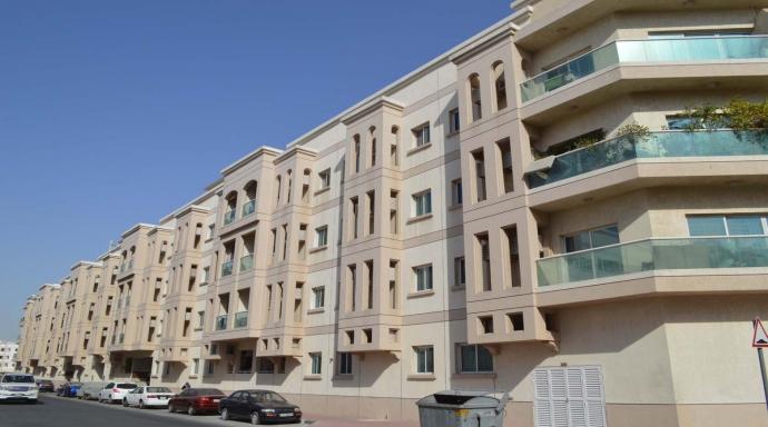 R434 muhaisnah - 1 bedroom flat