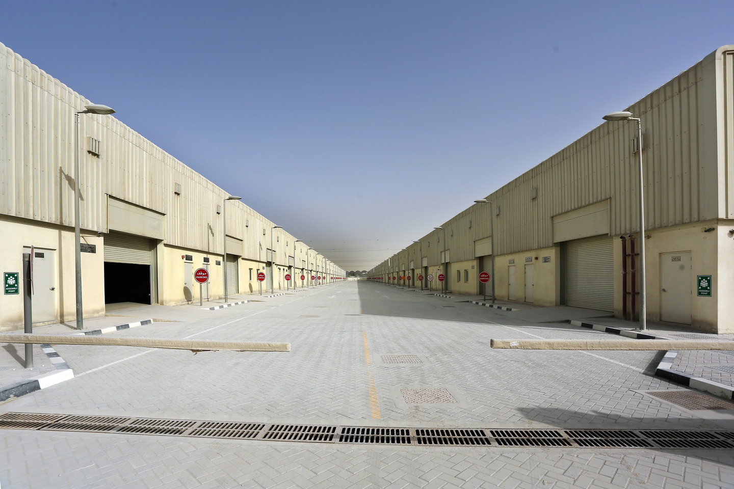 Jebel Ali warehouses