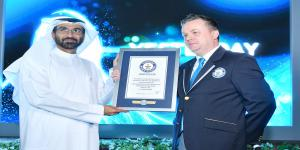 wasl breaks a Guinness World Records title in celebration of the 'Year of Zayed'