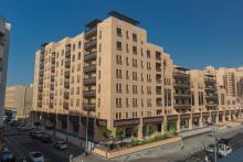حي وصل وحدات سكنية جديدة في المبنى D